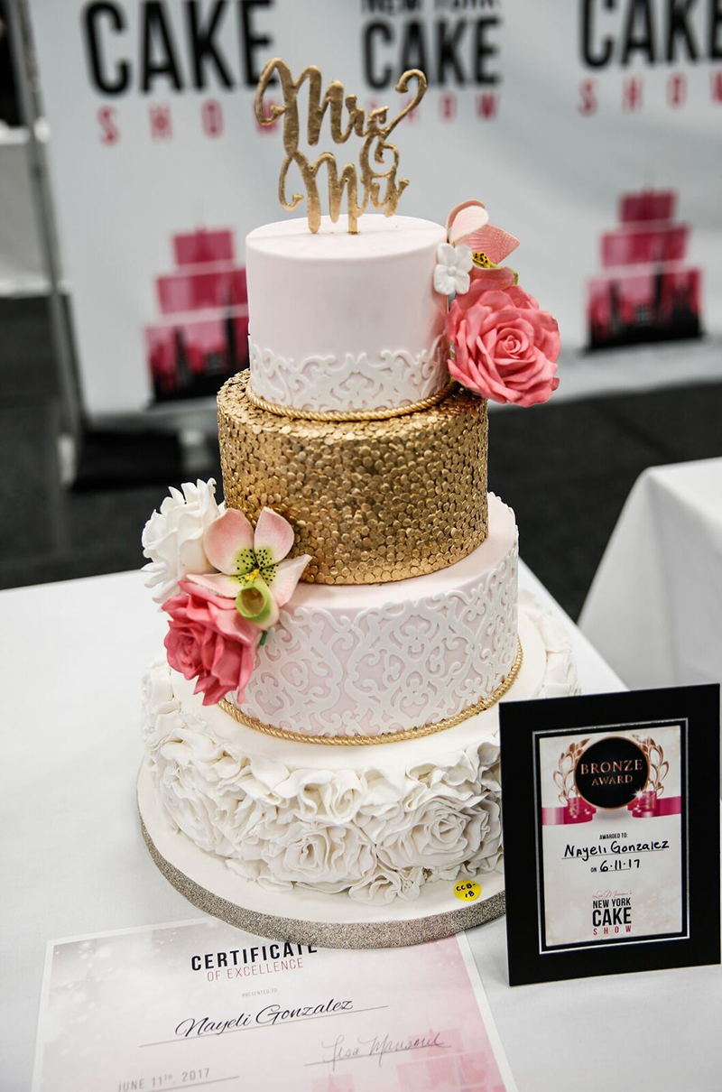 best wedding cake bakeries new york the broadway cakes at the 2017 new york cake show 11411